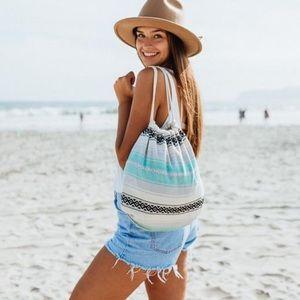 SAND CLOUD Turkish Cotton Mint Baja Backpack/Bag